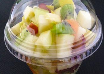 Salatcup Obst