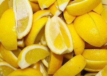 Zitronen Ecken