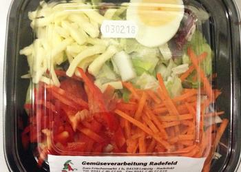Salatsnack Käse + Ei