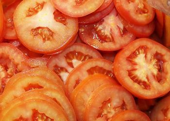 Tomaten Scheiben