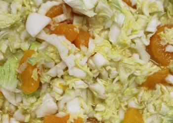 Chinakohl-Madarinen-Salat
