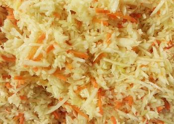 Weißkohl-Möhren-Salat