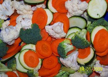 Gemüsepfanne Alfredo