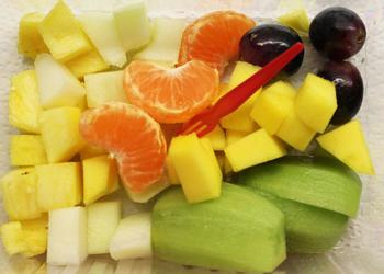 Fingerfood Obst Exotic