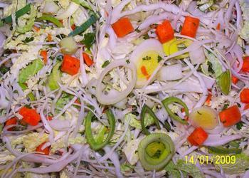 Bayrische Gemüsepfanne