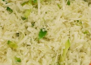 Weißkohl-Paprika-Salat